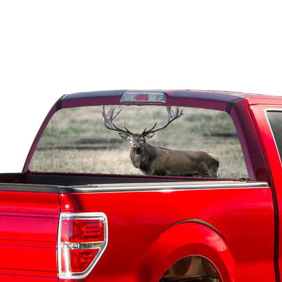 Deer Perforated for Ford F150 Vinyl 2015 - Present