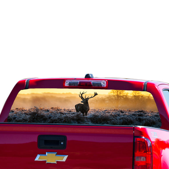 Deer Perforated for Chevrolet Colorado decal 2015 - Present