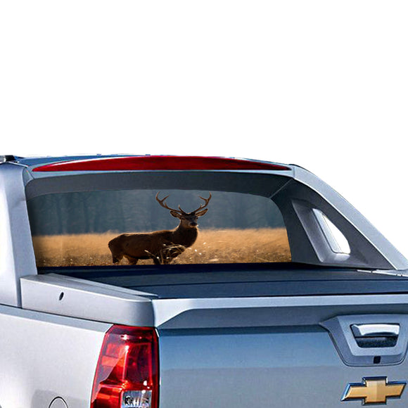 Deer Perforated for Chevrolet Avalanche decal 2015 - Present