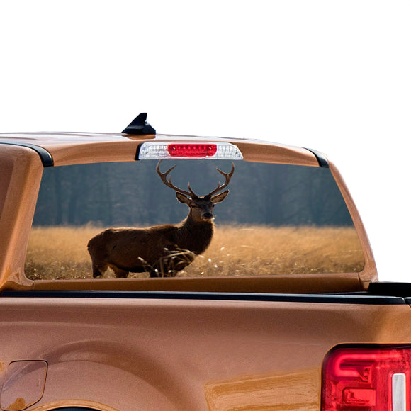 Deer Perforated for Ford Ranger decal 2010 - Present