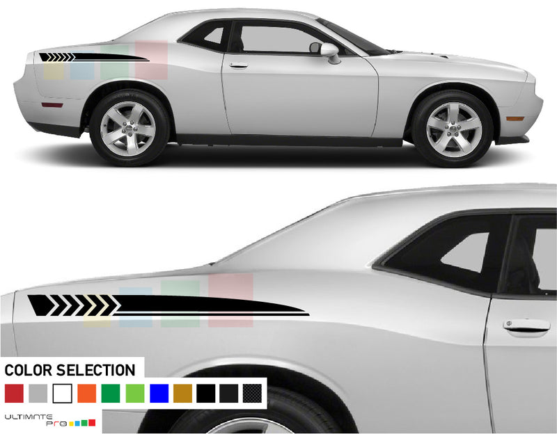 Decal Sticker Vinyl Rear Quarter Panel For Dodge challenger RT SRT8 2008 - Present
