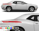 Rear Quarter Panel Stripes Decal Vinyl For Dodge challenger  SRT8 2008 - Present