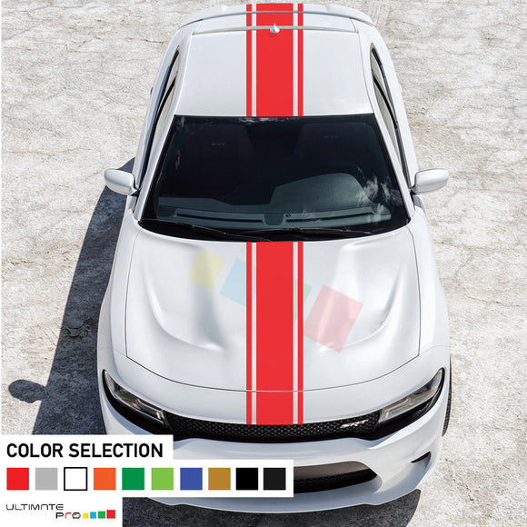 Decal Sticker Full Body Stripe Kit For Dodge Charger SRT 2011 - Present