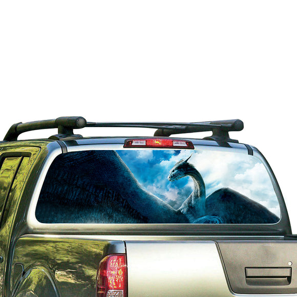 Dragon Perforated for Nissan Frontier decal 2004 - Present