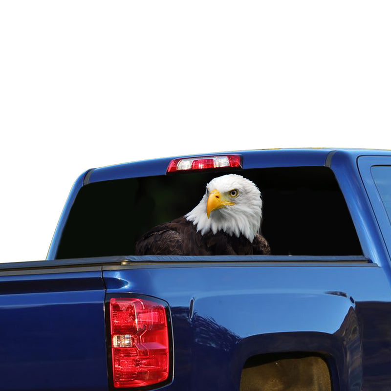 Black Eagle Perforated for Chevrolet Silverado decal 2015 - Present