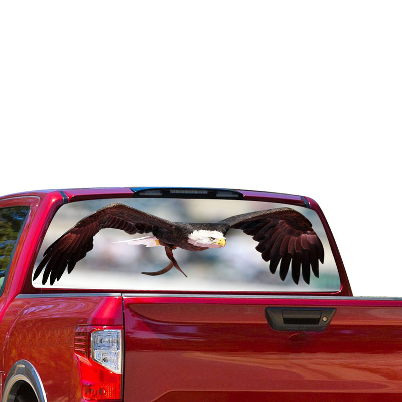 Eagle Perforated for Nissan Titan decal 2012 - Present