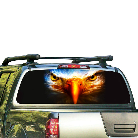 Eagle Eyes Perforated for Nissan Frontier decal 2004 - Present