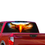 Eagle Eyes Perforated for Nissan Titan decal 2012 - Present