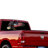 USA Eagle Perforated for Dodge Ram decal 2015 - Present