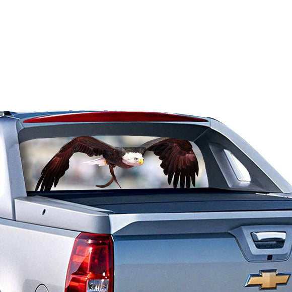Eagle 1 Perforated for Chevrolet Avalanche decal 2015 - Present