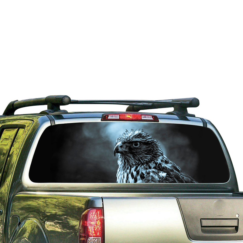 Eagle 3 Perforated for Nissan Frontier decal 2004 - Present