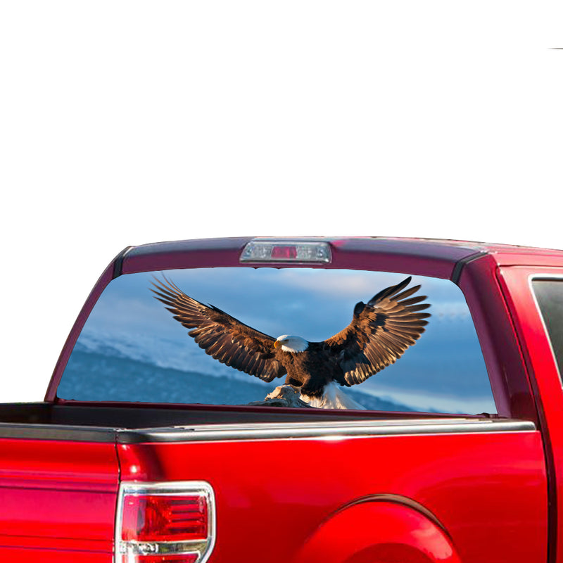 Eagle 1 Perforated for Ford F150 Decal 2015 - Present