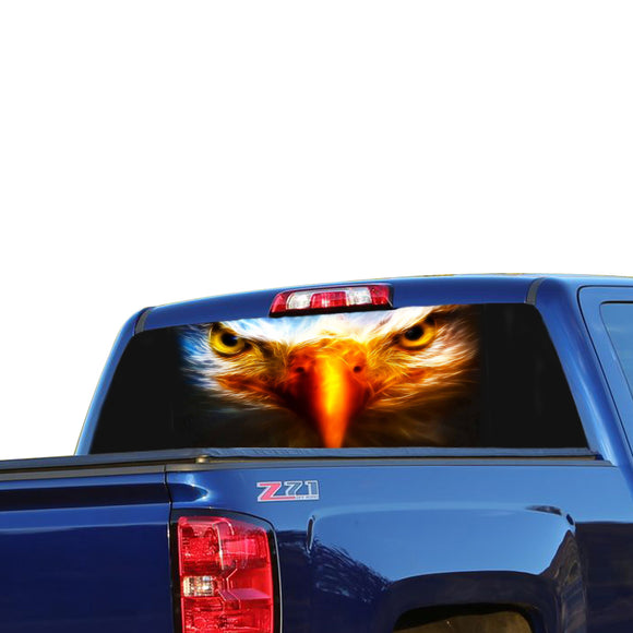 Eagle 2 Perforated for Chevrolet Silverado decal 2015 - Present