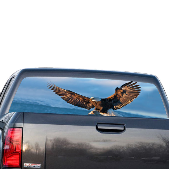 Eagle 2 Perforated for GMC Sierra decal 2014 - Present