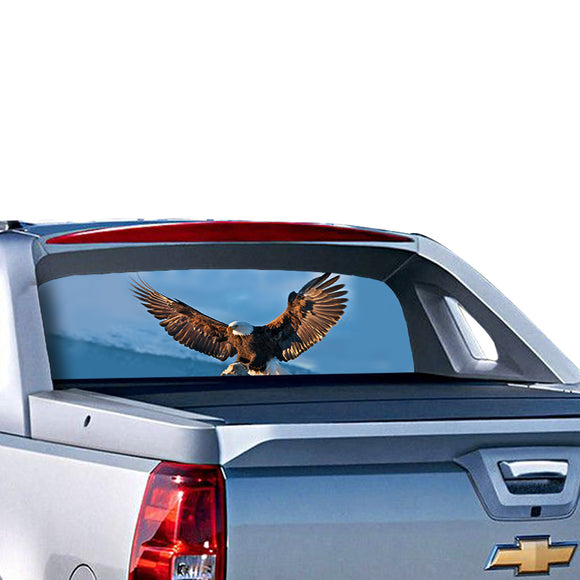 Eagle 3 Perforated for Chevrolet Avalanche decal 2015 - Present