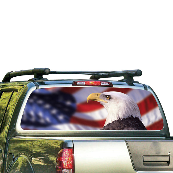 Eagle USA Perforated for Nissan Frontier decal 2004 - Present