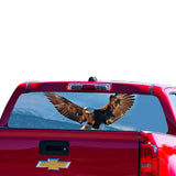 USA Eagle Perforated for Chevrolet Colorado decal 2015 - Present