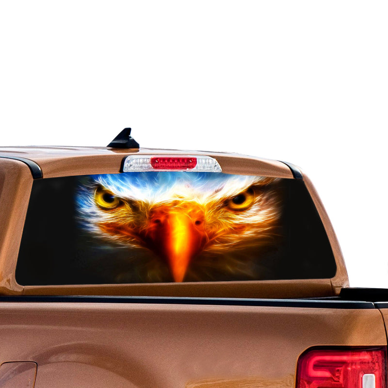 Eagle Eyes Perforated for Ford Ranger decal 2010 - Present