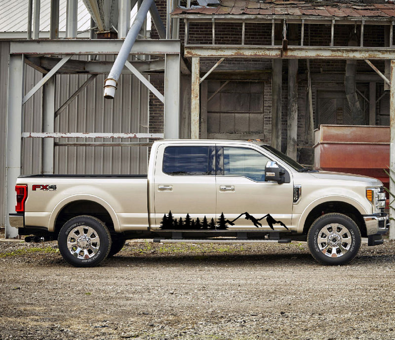 Decal Graphic Vinyl Kit Compatible with Ford F350