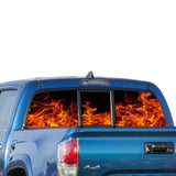 Flame Perforated for Toyota Tacoma decal 2009 - Present