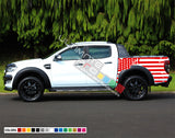 Decal USA for Ford Ranger Double Cab 2011 - Present