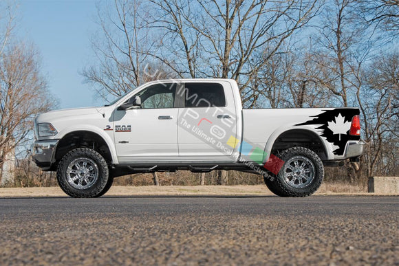 Side Bed Graphic Decal Canada Dodge Ram 2009 - Present
