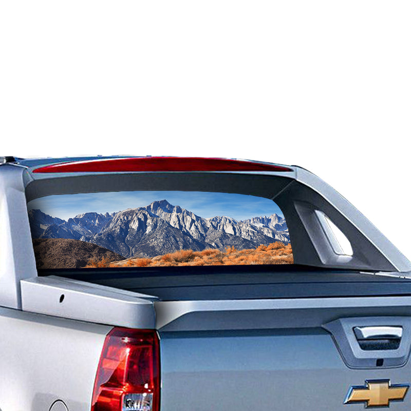 Mountain Perforated for Chevrolet Avalanche decal 2015 - Present
