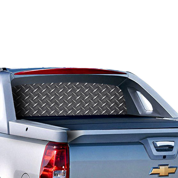 Iron Perforated for Chevrolet Avalanche decal 2015 - Present