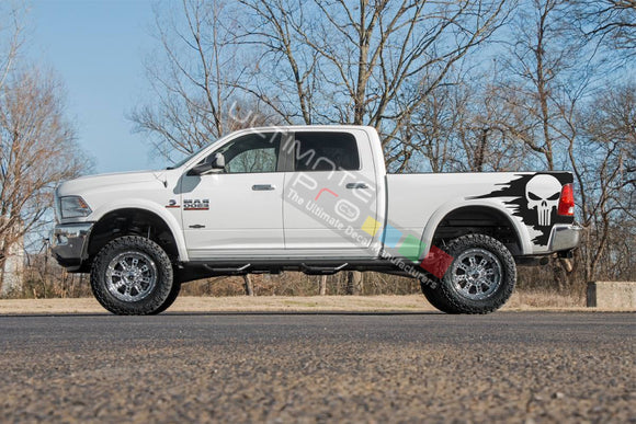 Graphic Decal Sticker Side Bed Dodge Ram 2009 - Present