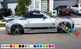 Decal Sticker Vinyl Side Racing Stripes Compatible with Nissan 350 Z Fairlady Z 2002-Present