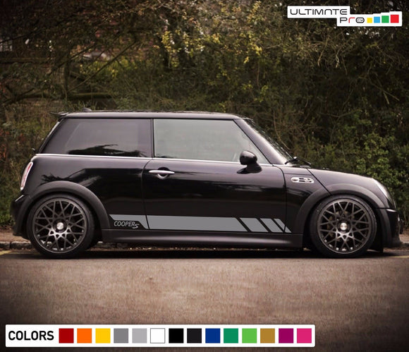 Sticker Decal Side Door Stripe Body Kit for Mini Cooper S Hatch