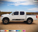 Decal Sticker Lower Stripe Kit for Nissan Frontier 3rd 2nd generation 2014-Present