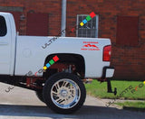 Sticker kit Compatible With Chevrolet Silverado high country