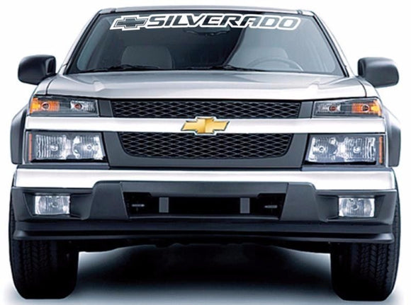 Decal Sticker Banner sunproof for Chevrolet Silverado