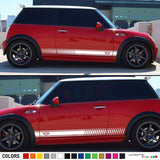 Sticker Side Stripe Compatible with Mini Cooper All Models
