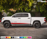 Side Stripes Decal Sticker Graphic Compatible with Toyota Tundra