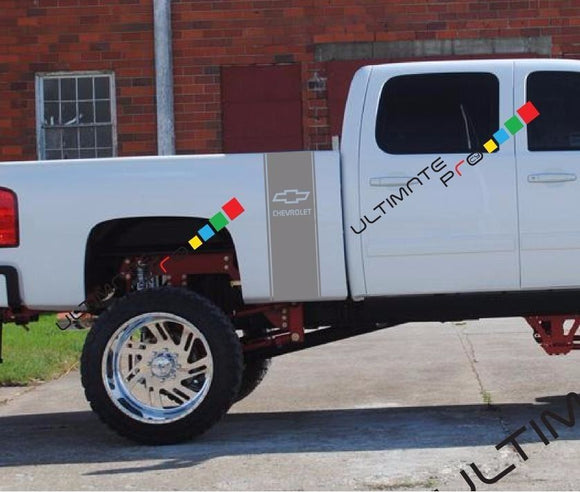 Stripe Sticker kit for Chevrolet Silverado 3500