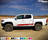 Decals Vinyl Mountain Stripe Kit Compatible with Chevrolet Colorado