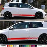 Stickers Decal Side Stripes for Volkswagen Golf MK4 -MK7