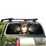 Skull Perforated for Nissan Frontier decal 2004 - Present