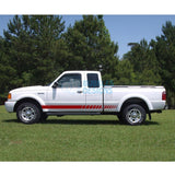 Sticker For Ford Ranger Super Cab 1998-2012 Red