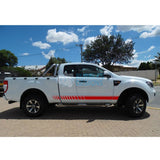 Sticker For Ford Ranger Super Cab 2011 - Present Red