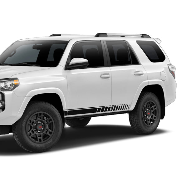 Decal Sticker Vinyl Side Stripe Kit Compatible with Toyota 4Runner 2009-Present