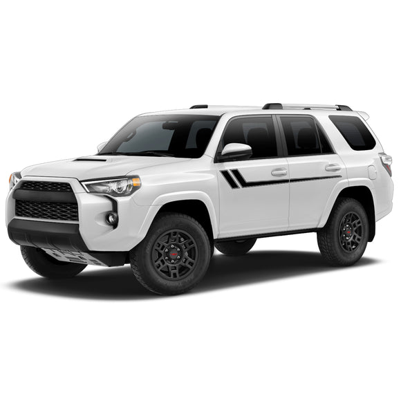 Decal Hockey Sticker Vinyl Side Stripe Kit Compatible with Toyota 4Runner 2009-Present