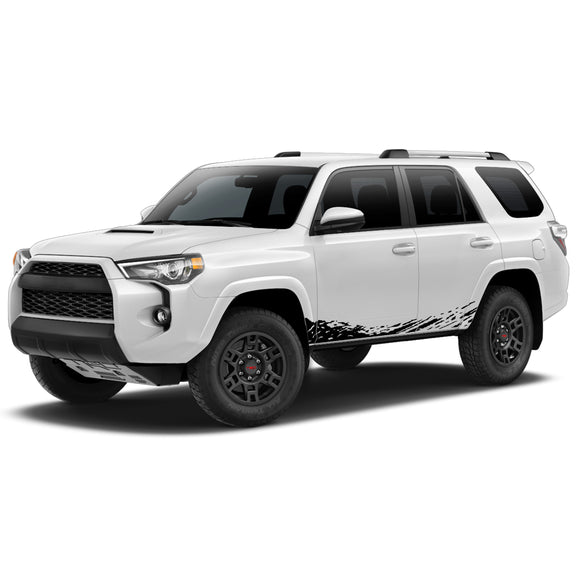 Lower Decal Sticker Vinyl Side Stripe Kit Compatible with Toyota 4Runner 2009-Present