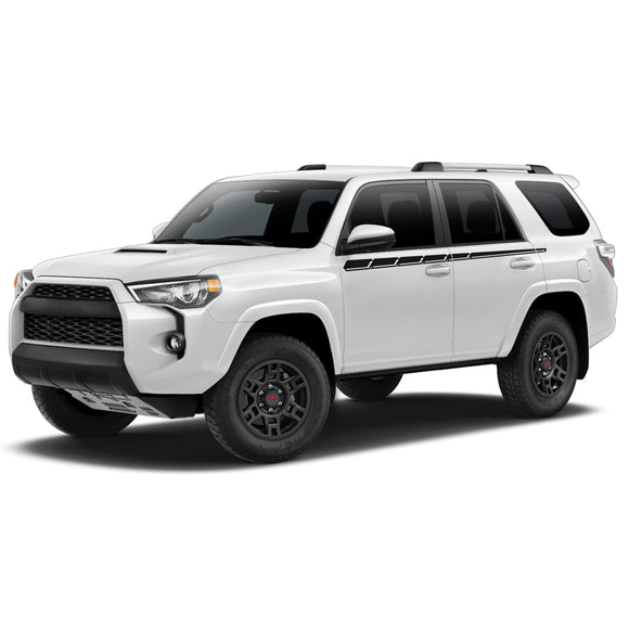 Line Decal Sticker Vinyl Side Stripe Kit Compatible with Toyota 4Runner 2009-Present