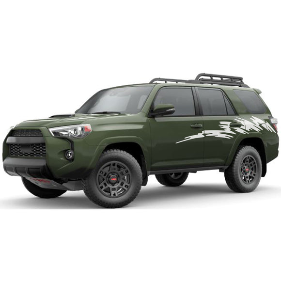 Bed Decal Sticker Vinyl Side Stripe Kit Compatible with Toyota 4Runner 2009-Present