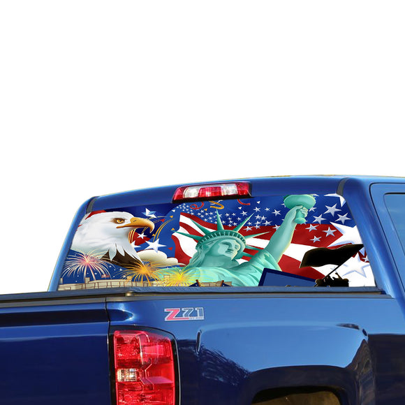 New York Perforated for Chevrolet Silverado decal 2015 - Present