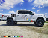 Decal Stripes Body Kit Ford F150 F-250 F-100 American Flag