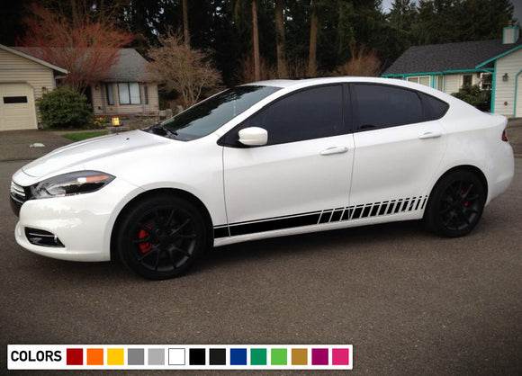 Door Stripes Decal Vinyl Racing For Dodge Dart 2015 - Present